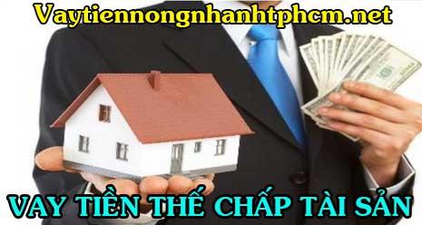 Vay tiền thế chấp tài sản cá nhân không chứng minh thu nhập